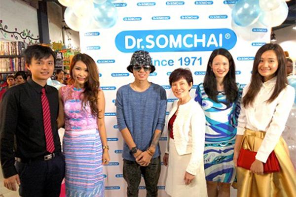 เปิดตัวผลิตภัณฑ์ ดร.สมชาย ณ ห้างสรรพสินค้า Sein Gay Har ประจำกรุงย่างกุ้ง