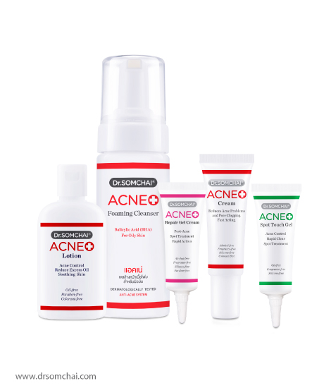 4 Step ACNE Set | Dr.Somchai