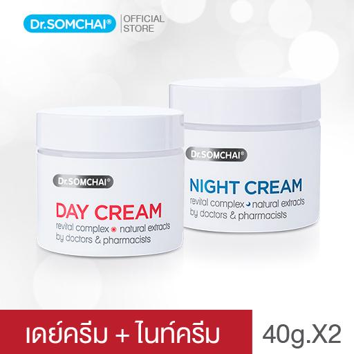 เดย์ ครีม & ไนท์ ครีม (แพ็คคู่) | ดร.สมชาย
