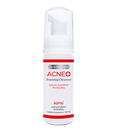 ACNE Foaming Cleanser with Salicylic | Dr.Somchai