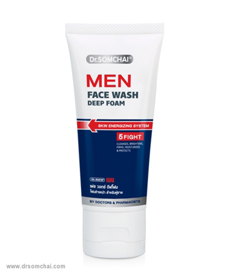 Men Face Wash Deep Foam | ดร.สมชาย