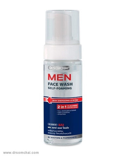 Men Face Wash - Self Foaming | ดร.สมชาย