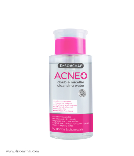 ​ACNE Double Micellar Cleansing Water | Dr.Somchai