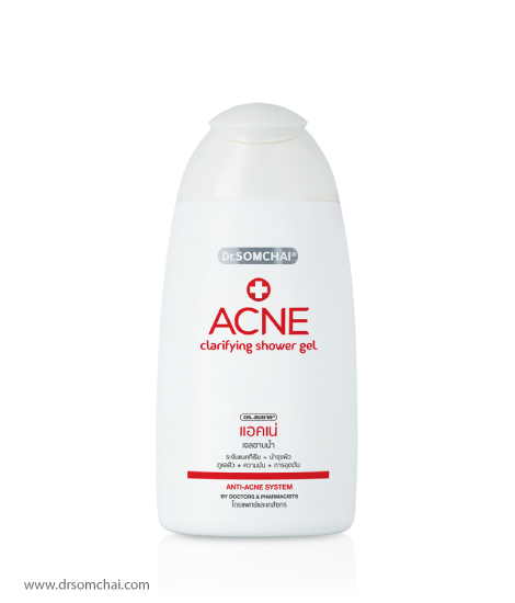 ACNE Clarifying Shower Gel | Dr.Somchai