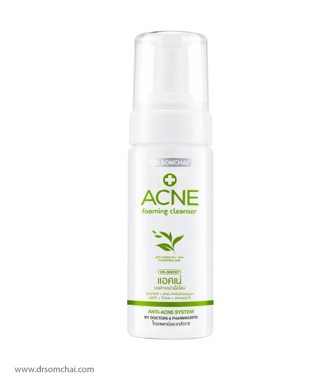 ACNE Foaming Cleanser with Green Tea | Dr.Somchai