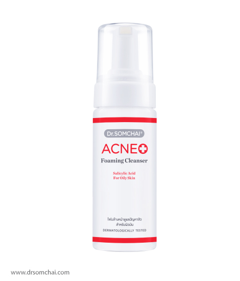 ACNE Foaming Cleanser with Salicylic Acid | Dr.Somchai