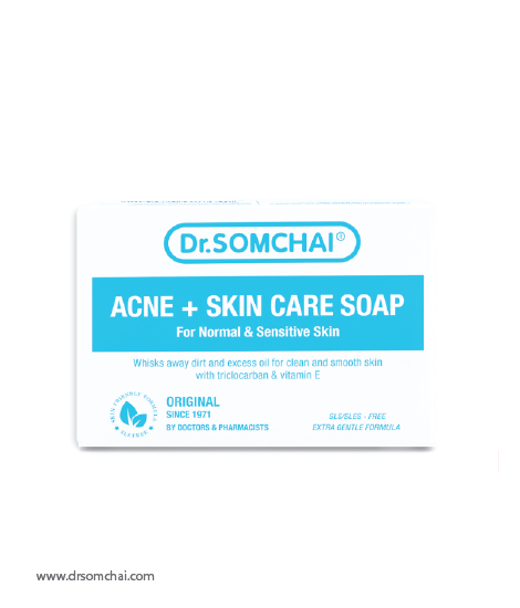 ACNE & Skin Care Soap for Sensitive Skin | Dr.Somchai
