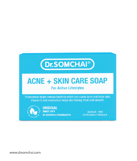 Acne & Skin Care Soap for Normal to Oily Skin | Dr.Somchai