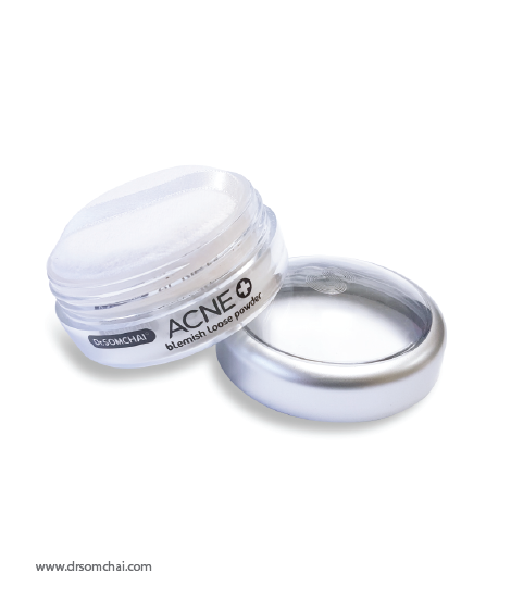 ACNE Blemish Loose Powder Beige | Dr.Somchai