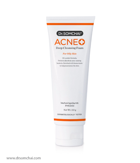 ACNE Deep Cleansing Foam for Oily Skin | ดร.สมชาย